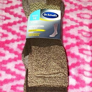 Dr.Scholls Advanced Relief Casual Socks 3-Pack